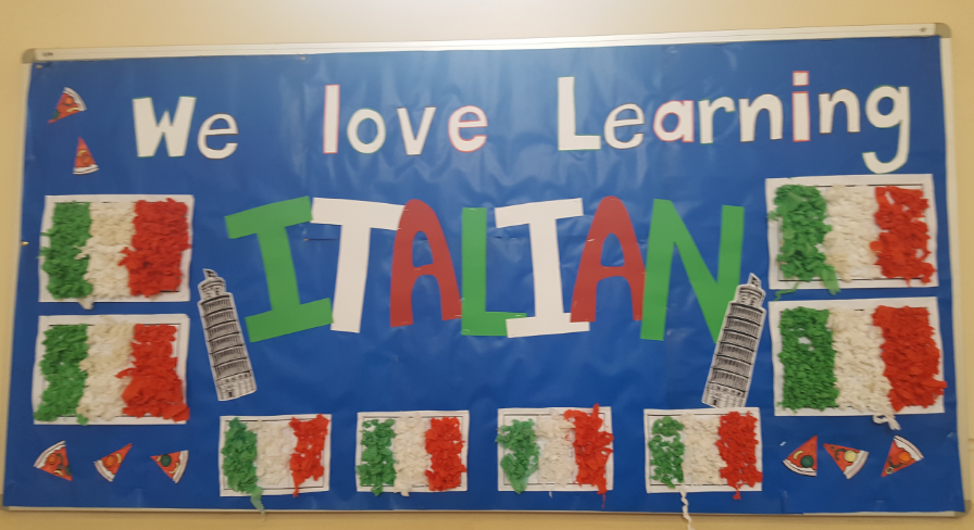 Learning Italian at Concord PS